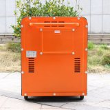 Preço Soundless Diesel portátil do gerador 5kVA da potência do começo da chave do bisonte (China) BS6500dse 5kw 5kv para a melhor venda