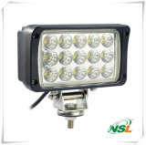Indicatori luminosi del lavoro LED di lumen 45W, 3825high del chip di Epistar LED, automobile 12V, 24V ed indicatori luminosi del camion, grande quadrato che osserva gli indicatori luminosi della jeep