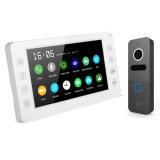 주택 안전 내부통신기 기억 장치를 가진 영상 Doorphone 시스템 7 인치 내부전화