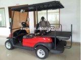 Автомобиль гольфа Seater горячего сбывания 4 электрический для поля для гольфа