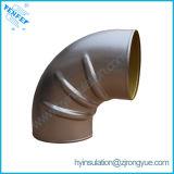 Het Aluminium van Prefabriated Twee Halve Dekking die van de Elleboog voor de Isolatie van de Pijp passen