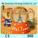Изготовленный на заказ подарки Snowball сувениров Эйфелевы башни для сбывания