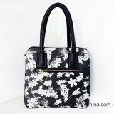 In het groot Dame Flower Printing PU Leather Handtassen (LY060280)