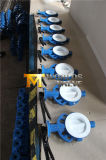 Split клапан-бабочка покрытия тела PTFE с ISO Ce одобрила (CBF02-TA04)