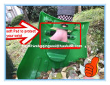 Ветроуловитель листьев применения пластичного материала и сгребалки сада
