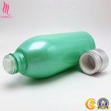 Fles van het Glas van de persoonlijke Zorg de Kosmetische met Geplateerde Schroefdop