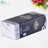 Rectángulo de regalo de empaquetado del vino del diseño de encargo de la insignia (KG-PX058)