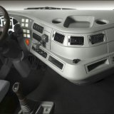 Testa del trattore dell'Saic-Iveco Hongyan 6X4 M100 calda in Russia