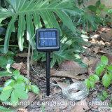 Проблескивая шнур панели солнечных батарей 8 светлый медный светлый для света напольного шнура Xmas пользы Fairy для украшения дома партии