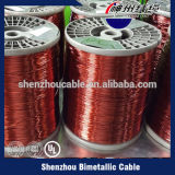Fio folheado de cobre 0.10-8.00mm do alumínio Wire/CCA