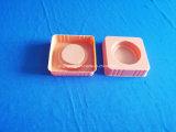 Oranje PS Dienblad voor het Dienblad van de Blaar van de Kleur van het Product Cosmestic voor Fles