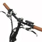 L LCD 350W E-Bici Juega batería de litio del disco del freno eléctrico de la bicicleta de motor sin escobillas Fat Tire Floding bicicleta eléctrica con En 15194 Aprobación