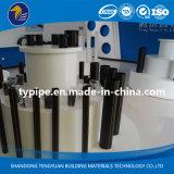 Tubulação plástica do polietileno high-density do fabricante profissional para o gás