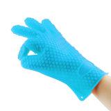 台所ツールの防水シリコーンのオーブンのミットのFDAの公認のシリコーンの手袋