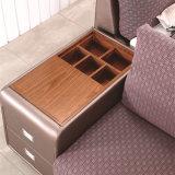 Base de sofá moderna del cuero genuino del estilo de Corea para los muebles de la sala de estar - Fb8045