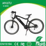 bicicleta elétrica do motor sem escova distante da escala 350W com engrenagens de Shimano
