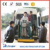 Elevador da cadeira de rodas da tecnologia de Xinder, tirante hidráulico para Van (WL-D-880)
