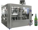 Cerveza de la botella de cristal del SGS Bcgf40-40-10 máquina que capsula de relleno que se lava 3 in-1