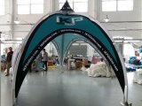 Kundenspezifisches Drucken-Firmenzeichen-Haus verwendetes Form-Auto-Garage-Zelt-Bogen-Zelt