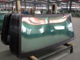 Máquina de proceso de cristal triaxial horizontal del borde del CNC para el vidrio auto