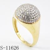 تقليد مجوهرات 925 فضة حلقة مصنع بيع بالجملة