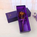 Rectángulo de regalo de empaquetado de lujo de la insignia de encargo para el embalaje del chocolate