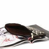 Bolsos de embrague cosméticos del diseño de la impresión del leopardo (MBNO040077)