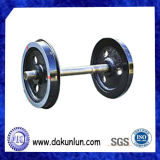 精密ステンレス鋼モデルトレインの車輪