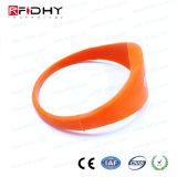 Tk4100 imperméabilisent le bracelet orange d'IDENTIFICATION RF dans la forme de montre