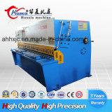 Macchina di taglio di CNC del fascio idraulico dell'oscillazione dell'acciaio dolce 8*6000 di QC12k con il regolatore di E21s