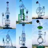 Grosses Größen-Becher-Borosilicat-Glas-rauchendes Wasser-Großhandelsrohr