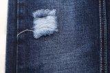 Tissu en gros de denim de sergé de mèche de coton tissé par 10oz