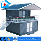 Casa modular de la familia del contenedor del diseño moderno de dos suelos