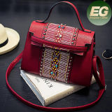 Handtassen Sy7967 van de Groothandelsprijzen van de Zakken van Messager van de Dames van de Handtas van het Merk van de manier de Heetste Beslagen