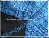 3 couches de jupe tricotée protégeant du vent métallisée de longue mode de la chemise des femmes