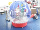 Heißer Verkaufs-aufblasbare Schnee-Kugel für Verkauf, aufblasbares Weihnachtsschloß