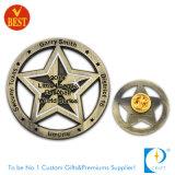 Emblema fresco/emblema do Pin da motocicleta do esmalte do presente feito sob encomenda da lembrança