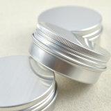 Серебряное алюминиевое олово с крышкой винта
