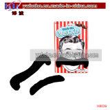 Bigote de la barba del juguete de la falsificación del partido del bigote de los items del partido (H8040)