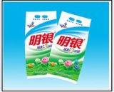 Weißes Waschpulver mit Tupfen, hohes Foam-Myfs032