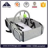 Arricchire il sacchetto portatile piegato di corsa del bambino, del bambino portello fuori trasportano il sacchetto della culla
