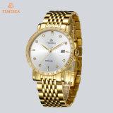 Oro de bisutería relojes automáticos impermeables para los hombres 72523