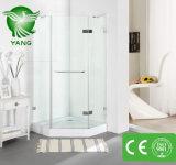 Дешевое приложение ливня ванной комнаты конструкции квадрата Tempered стекла цены, комната ливня, кабина ливня с обрамлено