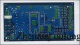 침수 골드와 블루 솔더 PCB (S-020)
