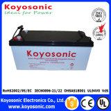 Sistema solar do picovolt da bateria do gel da venda direta 12V 45ah da fábrica
