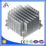 Encargo de precisión CNC 6061 T6 mecanizado anodizado duro