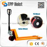 PU-Rad-hydraulischer Handladeplatten-Heber für Lager