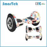Smartek 10inch grande cansa la movilidad eléctrica Gyroscooter de Gyroskuter Patinete Electrico de la pintada de Hiphop de la rueda de Giroscooter dos de la vespa con Bluetooth S-002-Cn