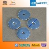 Angesenkter Magnet der Qualitäts-N45 Neodym