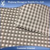 Tessuto del vestito da stirata del reticolo del plaid dell'ispettore di Walf dello Spandex del rayon del poliestere